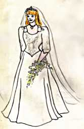 Wedding dress: Sarah Ferguson, 1986