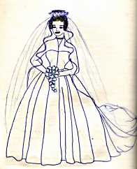 Wedding dress: Princess Margaret, 1960